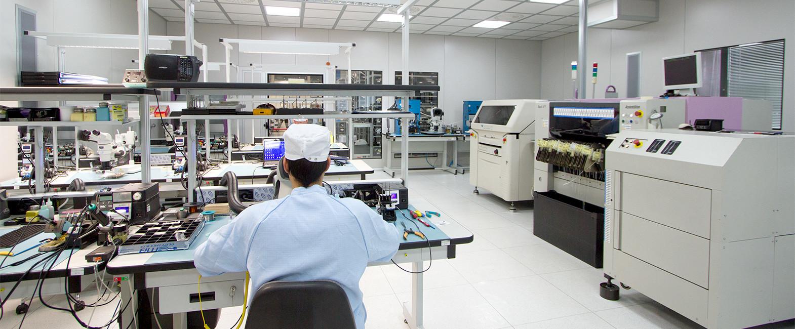 MB Elettronica – Produzione