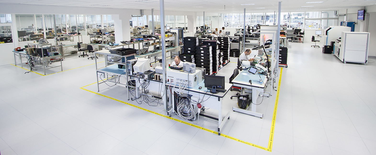 MB Elettronica – Production